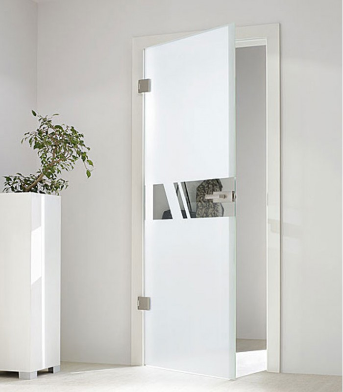 Internal Glass Doors And Frameless Glass Doors Aero On Frosted Design