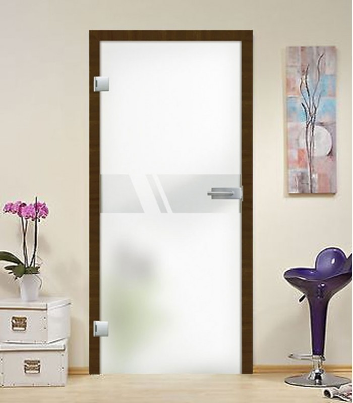 Internal Glass Doors And Frameless Glass Doors Aero On Frosted Design