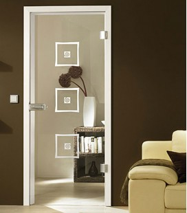 Alana Elegant Glass Door