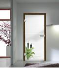 Atos Design on Clear Glass Doors