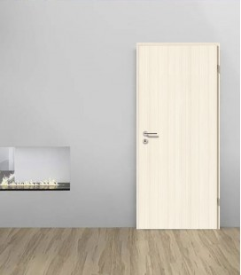 Ash White Double Fire Rated Door