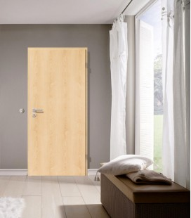 Natural Maple Contemporary Fire Door