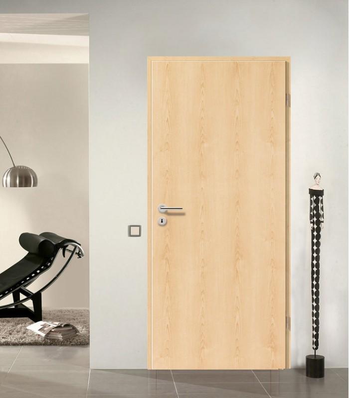 Internal maple doors contemporary standard maple fire for Natural wood doors interior