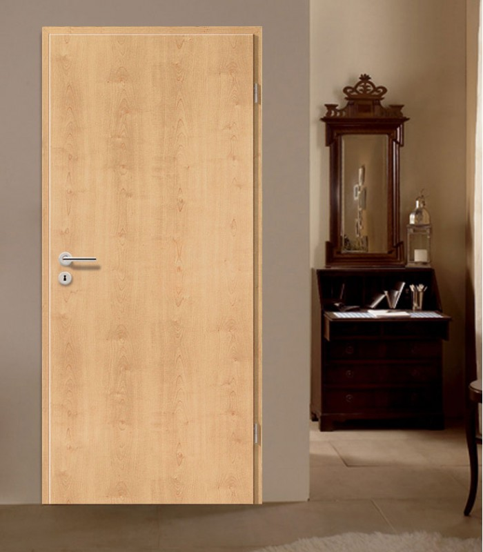 Maple interior doors modern designer fireproof for Designer interior doors uk