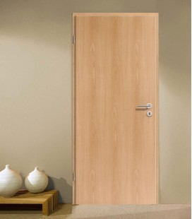 Beech Modern Fire Rated Door