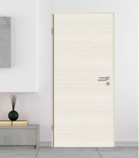 Pine Crosswise Solid Wooden Fire Door