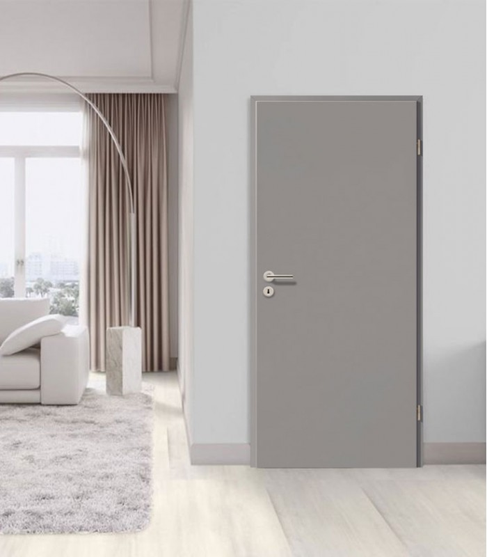 Grey Standard Doors Fireproof Painted Fire Rated Internal Doors