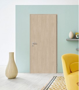 Amber Oak Fireproof Doors