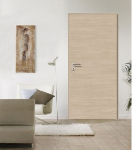 Amber Oak Crosswise Light Finish Fire Door