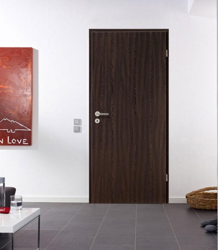 Wenge Fire Rated Doors Modern New Dark Internal Standard Doors