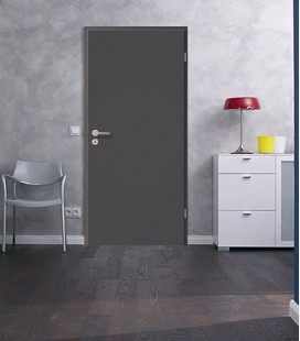 Agate Dark Grey Fireproof Door