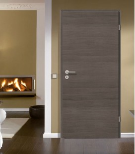 Pine Grey Crosswise Fire Rated Doors