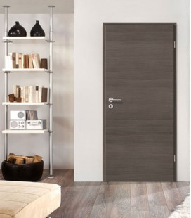 Pine Grey Crosswise Fireproof Door