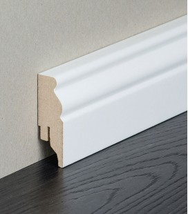 Berlin Skirting Board MDF White Painted 1.1