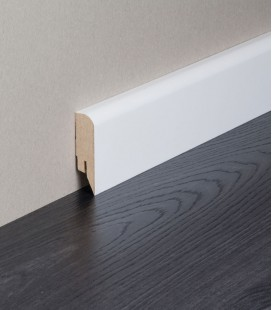 Modern Skirting Board MDF White Painted 2.1