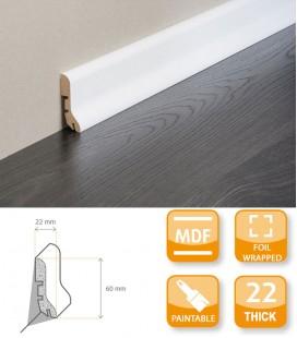 FBL 65 Skirting Board MDF Primed Foil 1.1