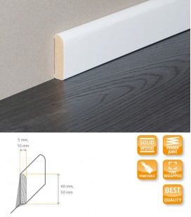 Skirting Board - Solid Timber Wrapped