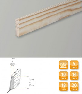 Square Edge Moulding Softwood Pine 1.1