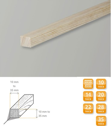 Square Moulding Softwood Pine 1.1