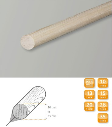 Dowel Rod Moulding Softwood Pine 1.1