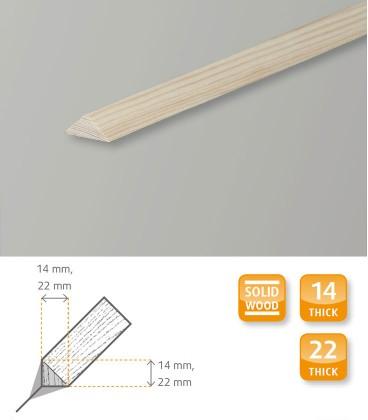 Triangular Pine Moulding 1.1