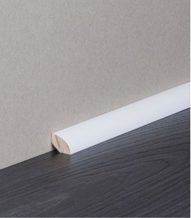 Quarter Round White Painted Moulding 2.1