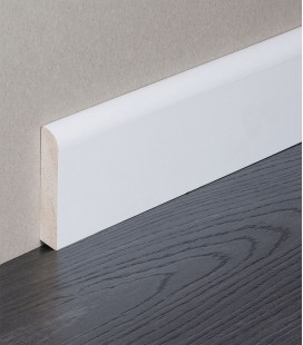 Skirting Board White Painted Moulding 2.1