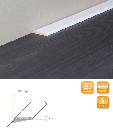 Carpet Trim White Painted Moulding 1.1
