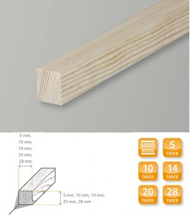 Square Softwood Pine