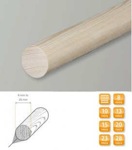Dowel Rod Softwood Pine