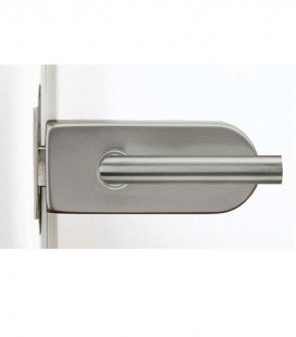 Round form latch for glass door 2.1