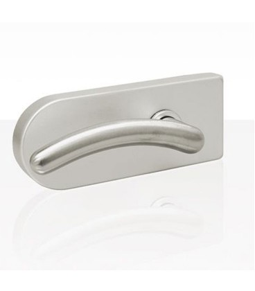 Round form latch for glass door 3.1