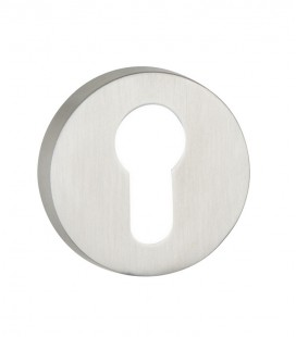 Euro Escutcheons stainless steel for door handles 7.1