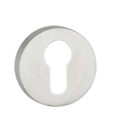 Euro Escutcheons stainless steel for door handles 7.1