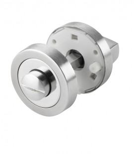 Thumbturn and release WC lock stainless steel polished chrome 1.1