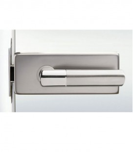 Square latch for glass doors 2.1