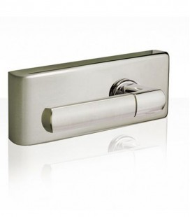 Pure latch for glass doors