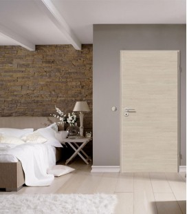 Light Oak Crosswise Standard Fire Doors