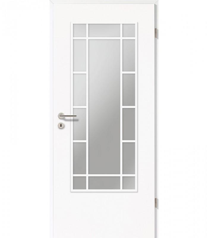 Traditional Doors Glazed Panel Cheap White Internal Doors