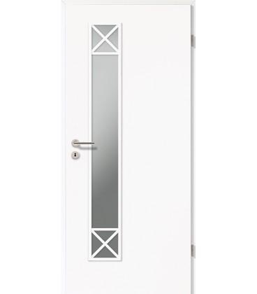 Vision Panels | Solid Doors | Wood Door with Gl on