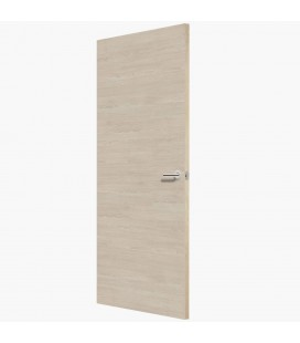 Light Oak Cross FD30 Doors - Platinum Oak Cross Finish