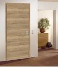 Rustic Oak Crosswise FD30 Door