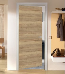 Rustic Oak FD30 Doors - Horizontal Grain