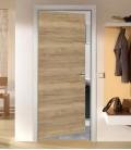 Rustic Oak FD30 Doors - Horizontal Grain