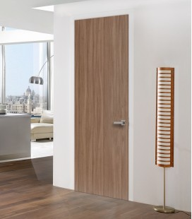 Walnut fire door