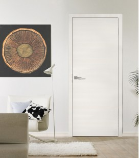 Structural White - Fire Resistant Doors - Horizontal Grain