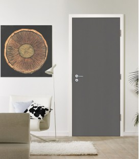 Effect Dark Grey - Fire Rated Door