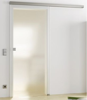 Frosted Glass Sliding Door