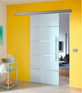 Atos Glass Sliding Door Set