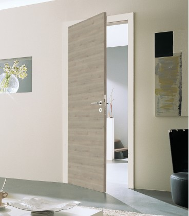 Pinea Silver Crosswise FD30 Door